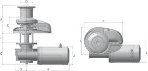 X3- VERTICAL WINDLASS Lofrans' – GTM